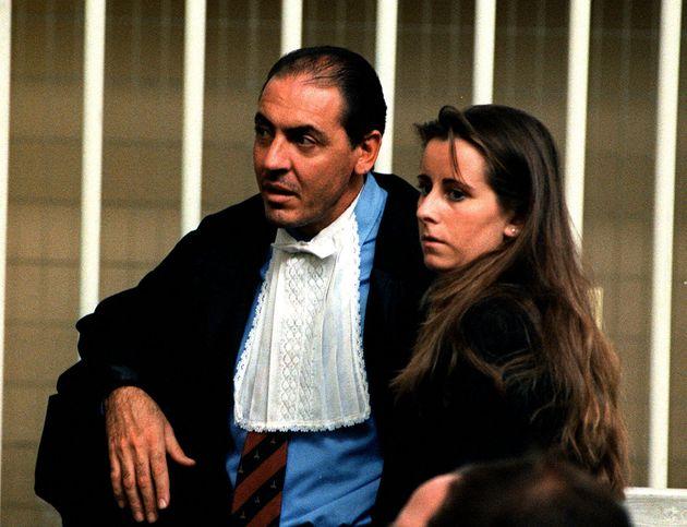 19990305- ROMA- MARTA RUSSO: TESTIMONI, 'COLPO SIMILE A QUELLI SILENZIATI- Il pm Carlo Lasperanza e Jolanda...