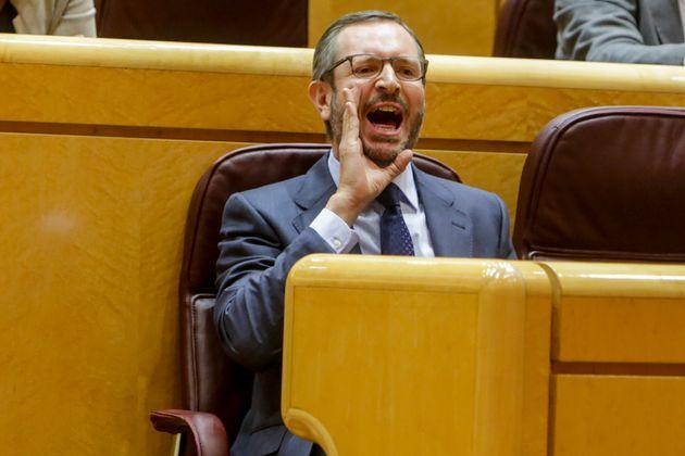 El portavoz del Grupo Popular en el Senado, Javier