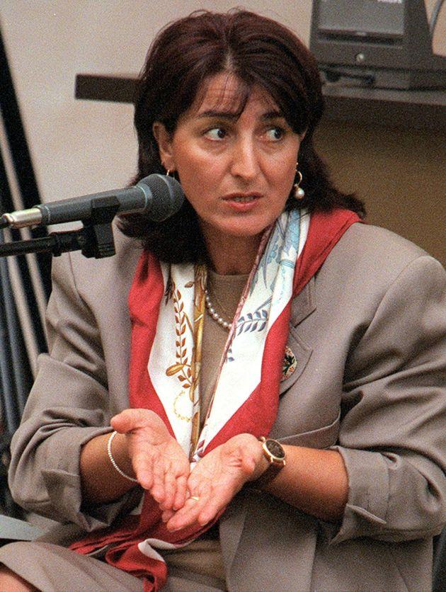 MARTA RUSSO: ANCORA INCERTEZZE DA GABRIELLA ALLETTO- Gabriella Alletto, mentre risponde alle domande,...
