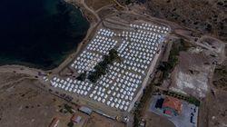 Après l'incendie de Mória, des migrants de Lesbos s'installent dans un nouveau