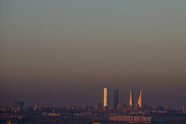 Imagen de archivo de contaminación atmosférica en