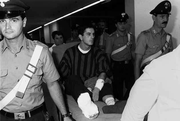 MARTA RUSSO : LA SUPERTESTIMONE E' SORELLA DI UN RAPITORE SARDO. Una foto del 3/8/89 , di Diego Orzai...