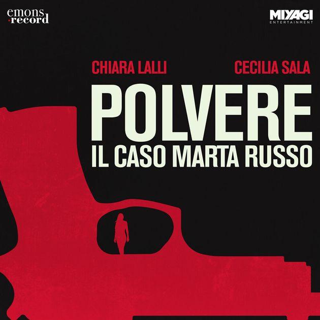 La cover di Polvere, il podcast sul caso Marta
