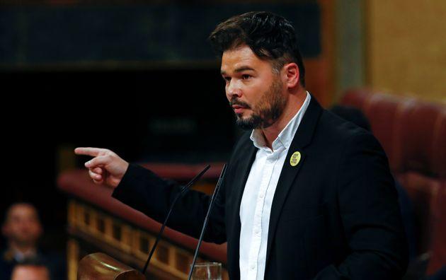 el portavoz de ERC en el Congreso, Gabriel