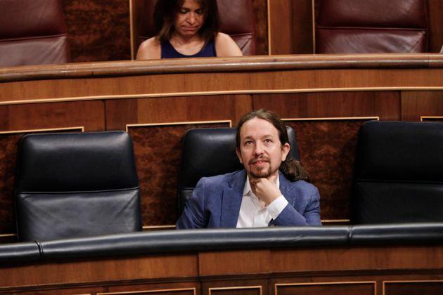 Pablo Iglesias en el Congreso de los