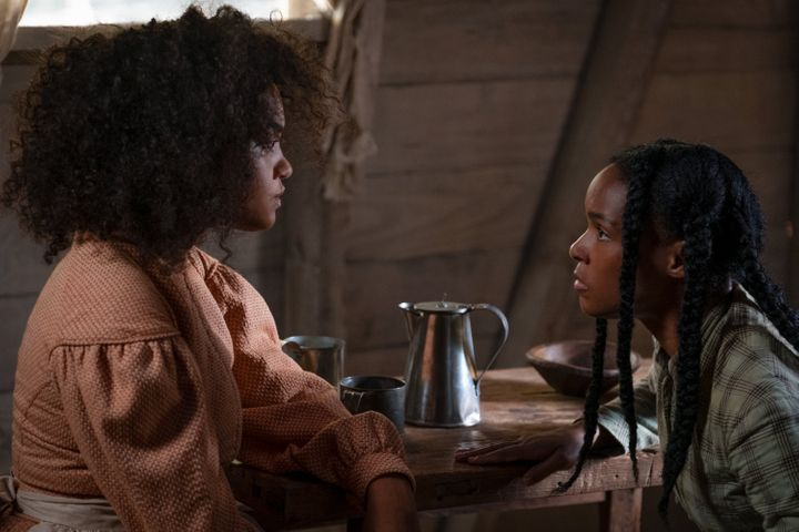 "Kiersey Clemons and Janelle Monáe in ""Antebellum,"" now available to rent through video-on-demand services."