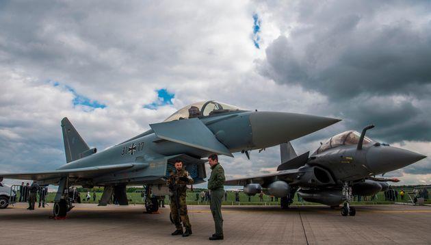 FAZ: Τα γαλλικά Rafale «νίκησαν» τα γερμανικά Eurofighter στην