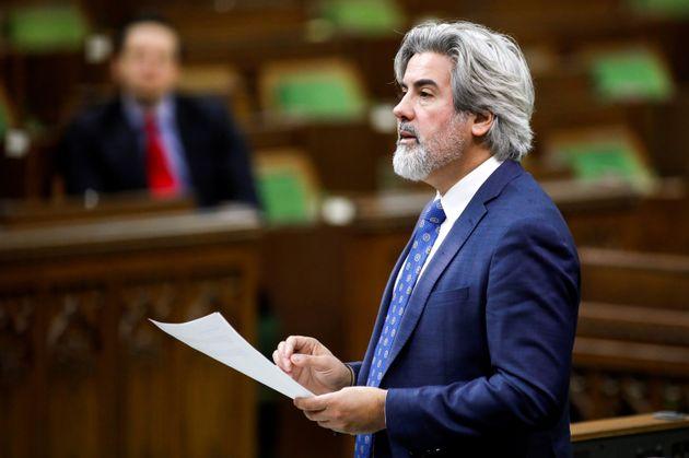 Le leader parlementaire des libéraux, Pablo Rodriguez. (photo