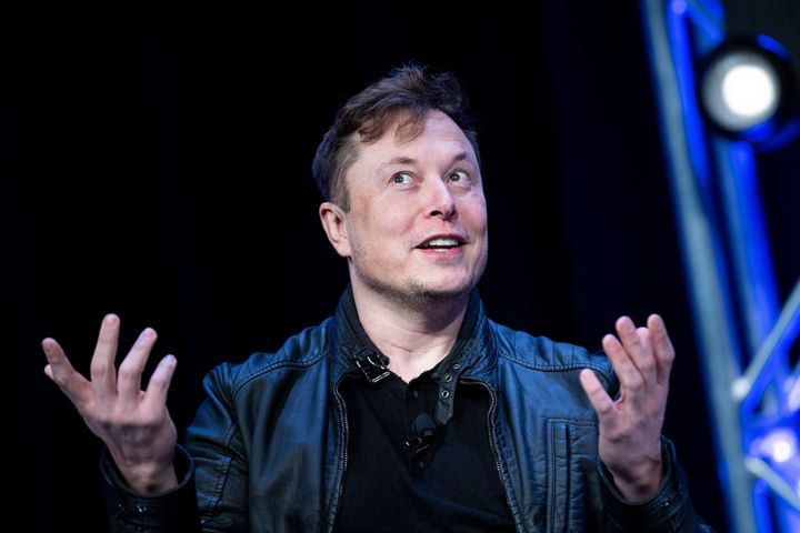 """Elon Musk speaks during the Satellite 2020 at the Washington Convention Center on March 9, 2020. The name """"Elon"""" dropped in popularity from 2018 to 2019, according to the Social Security Administration."""