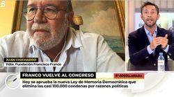 Tenso encontronazo entre Javier Ruiz y el presidente de la Fundación Francisco