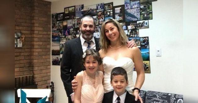 L'auteur et sa famille.