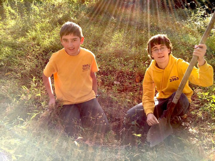 Luke Marston (left) and Joshua Nichols are rallying their neighbors in Newport News, Virginia, to make the city more habitabl