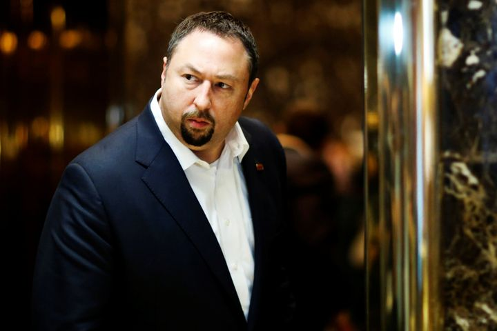Jason Miller, a senior adviser to President Donald Trump's reelection campaign, has been fighting with a former colleague ove