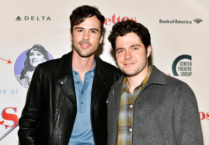 , Meet The Real-Life Couple Set To Star In Lifetime's Gay Holiday Movie