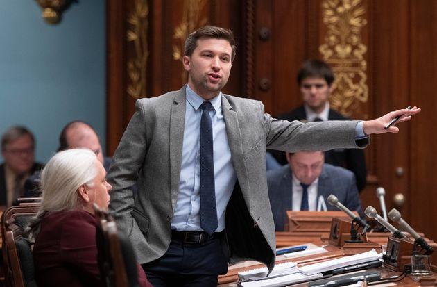 Le député solidaire de Gouin Gabriel Nadeau-Dubois affirme recevoir de nombreux appels...