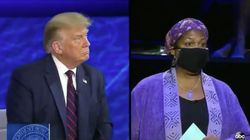 'Let Me Finish My Question': Voter Confronts Trump Over Efforts To Undermine