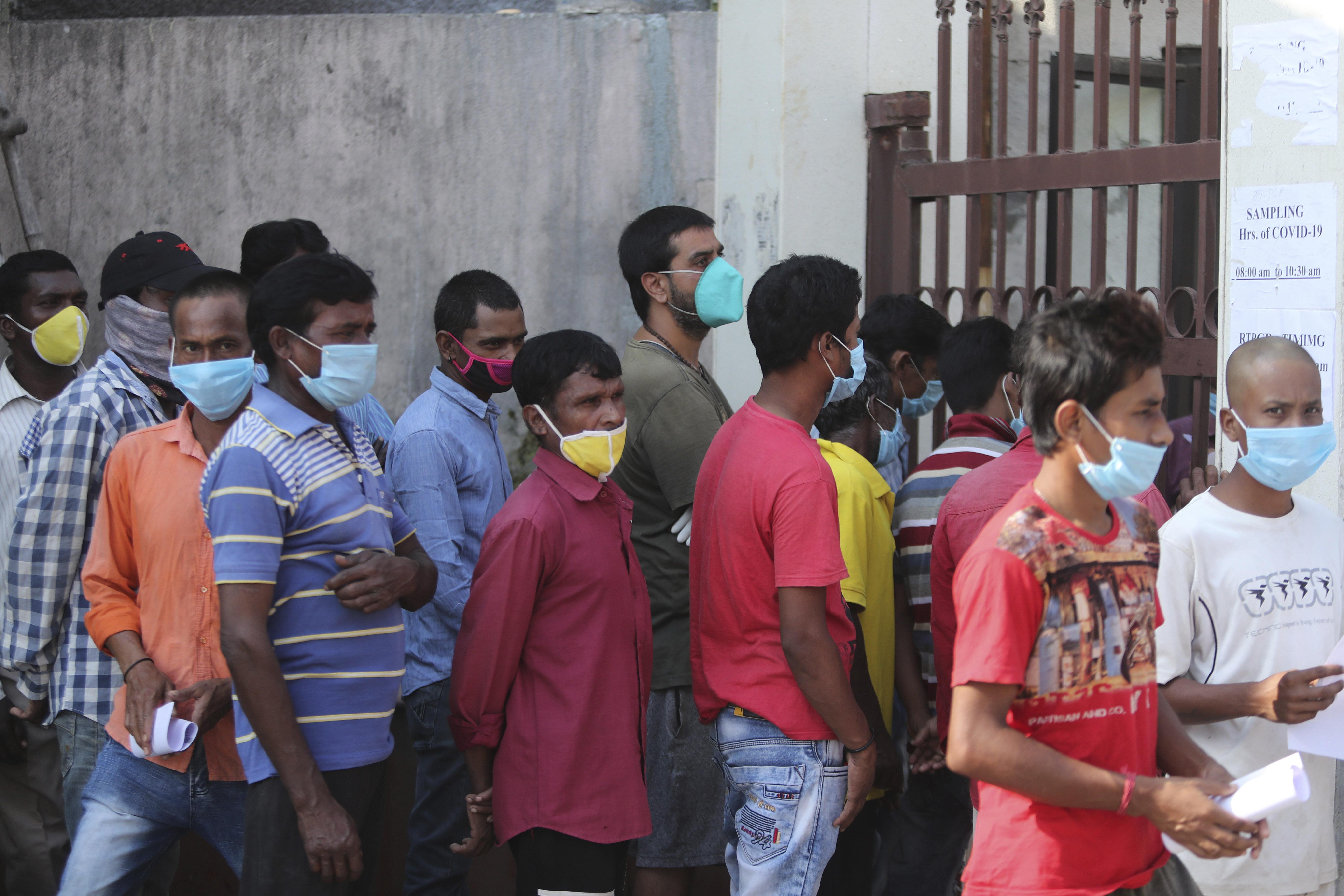 India surpasses 5 million coronavirus cases, 82,066 deaths