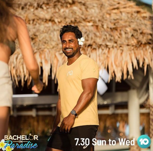 'Bachelor In Paradise' contestant Niranga Amarasinghe.