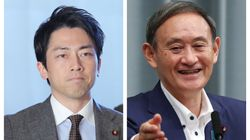 首相指名選挙、小泉進次郎氏に1票で笑いとどよめき。菅義偉新首相もクスリ