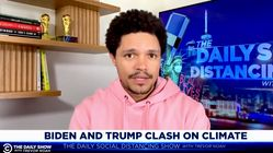 Trevor Noah Sees Common Theme On Trump's Approach To Climate Change,