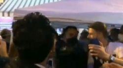 Gavettone a Di Maio durante la campagna per il referendum a San Giorgio a