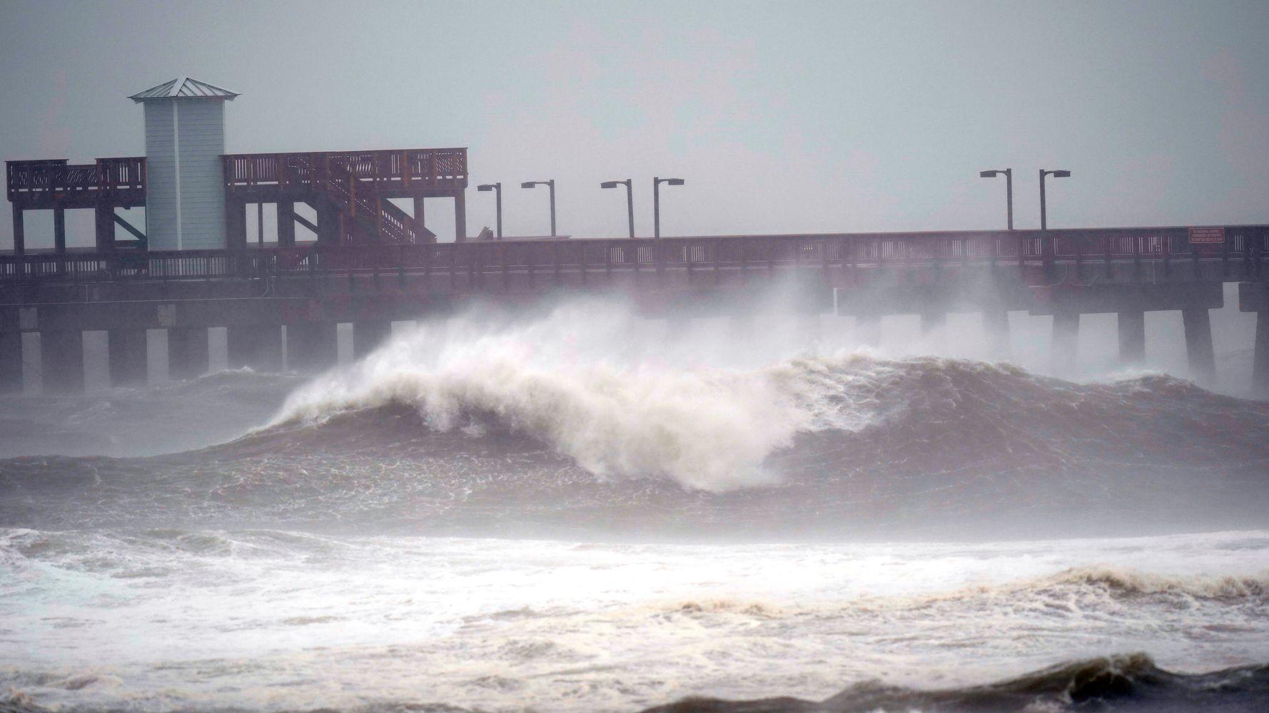 Slow-Moving Hurricane Sally Pummels Florida Panhandle, Southern Alabama