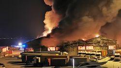 Ιταλία: Πυρκαγιά στο λιμάνι της