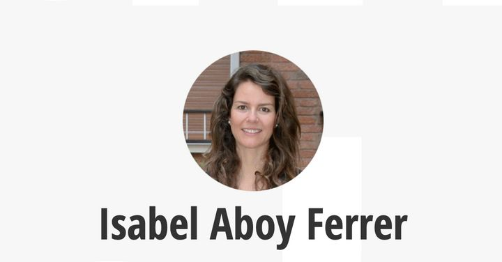 Isabel Aboy como fundadora