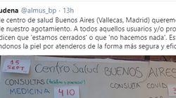 Una sanitaria de Madrid llama a la reflexión al mostrar el trabajo que tienen en su centro de