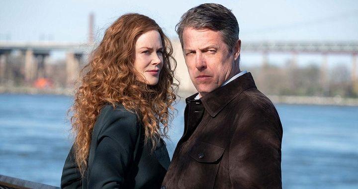 Nicole Kindman y Hugh Grant, protagonistas de la serie 'Undog'