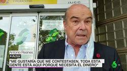 Antonio Resines aparece por sorpresa en las noticias de laSexta: y está muy