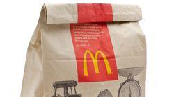 La livraison McDonald's arrive en