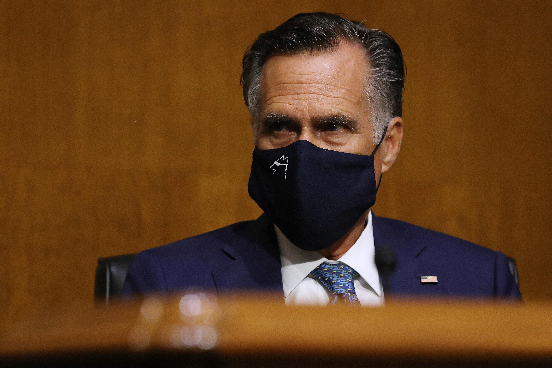 Romney Slams Senate GOP Probe of Biden