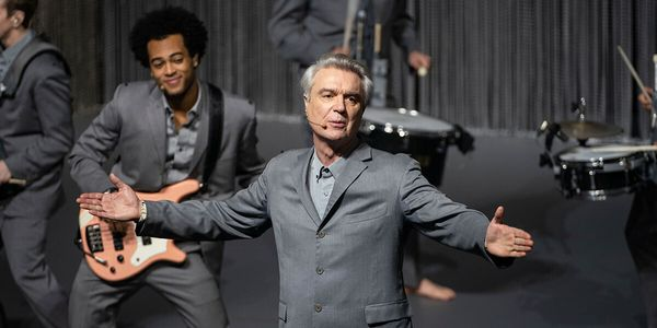 """The opening number in David Byrne's recent Broadway show, """"American Utopia,"""" is about how much of the human"""