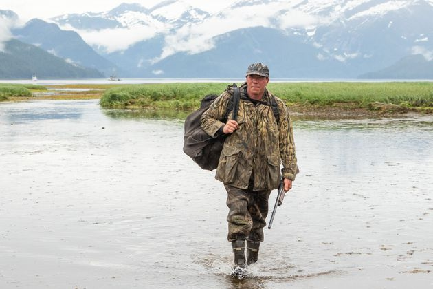 Dr. Al Gross has showcased his identity as an Alaskan outdoorsman in campaign materials. Some skeptics...