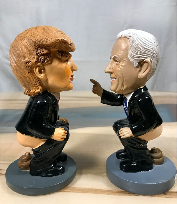 "If you're convinced that both <a href=""https://caganershop.com/collections/political/products/trump-caganer"" target=""_blank"">"