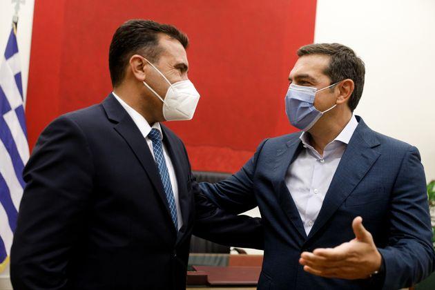 Τσίπρας σε Ζάεφ: Χαίρομαι που η ΝΔ όχι μόνο σέβεται αλλά δίνει και μάχες για τη Συμφωνία των