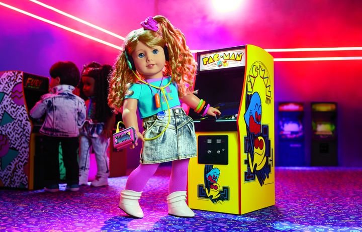 American Girl's newest doll is Courtney Moore, an '80s girl who loves arcade games.