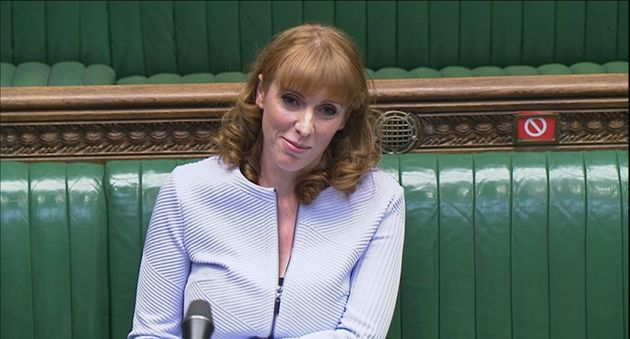 Deputy Labour leader Angela Rayner speaks during Prime Minister's Questions in the House of Commons, London. (Photo by House of Commons/PA Images via Getty Images)