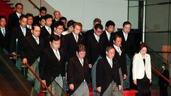 女性閣僚2人だけ。菅内閣での比率は10%、G7最低