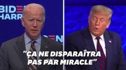 Pour Biden, l'échec de Trump sur la gestion du Covid