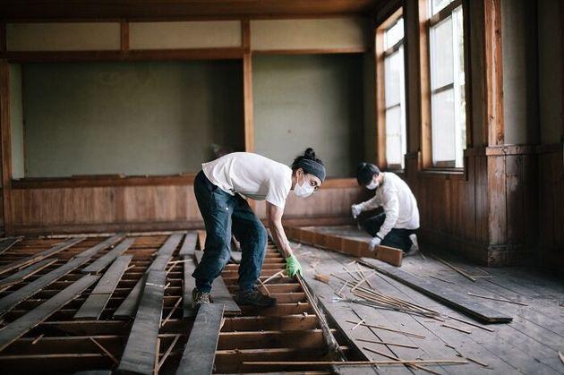 岐阜・飛騨市の公民館のレスキュー