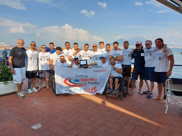 Settimana di Pallanuoto a Napoli |  protagonista una squadra di Paralimpici