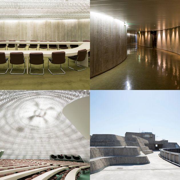 Le toit de l'Espace Niemeyer à Paris sera accessible pour les Journées du patrimoine