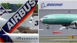 Airbus e Boeing, un duopolio alle prese con la
