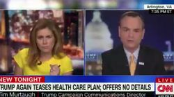 Erin Burnett Confronts Trump Campaign Aide To His Face: 'You Don't Have A