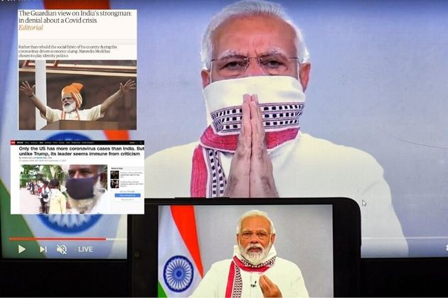 'Modi In Denial': International Media Calls Out Govt Over India's Covid