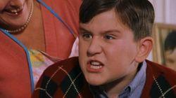 ¿Te acuerdas de Dudley Dursley, el primo de Harry Potter? Así ha