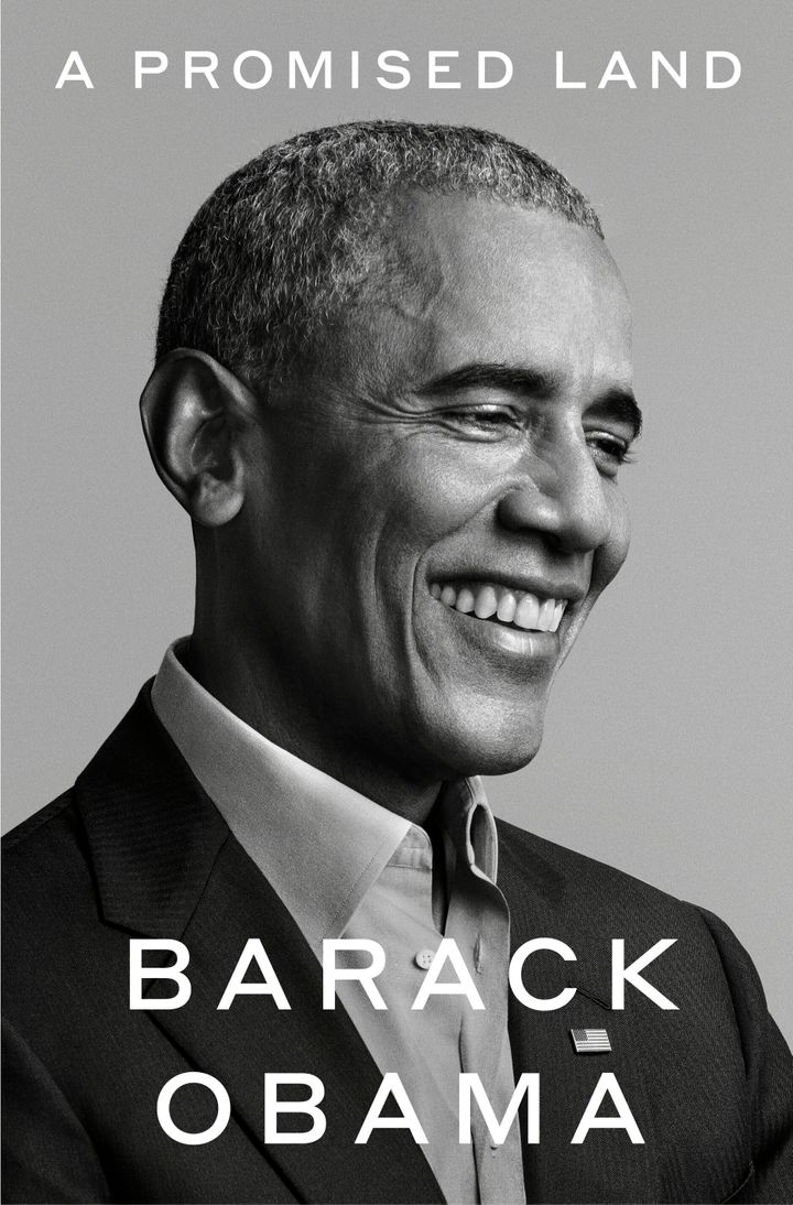 """The cover of the first volume of former President Barack Obama's memoir, """"A Promised Land,"""" which will be released on Nov. 17."""