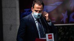 Aguado pide la actuación del Gobierno central para frenar la epidemia en